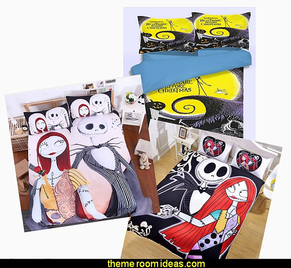 nightmare before christmas bedding  Nightbeforechristmas  Nightmare Before Christmas theme bedroom decorating ideas - jack skellington decor - Nightmare Before Christmas Bedroom Decor -  Jack skellington - the nightmare before Christmas - Nightmare Before Christmas  bedding
