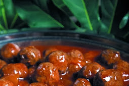 Cocktail Meatball Appetizer Recipe for the Crockpot Slow Cooker