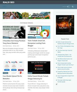 Template blog linkmagz