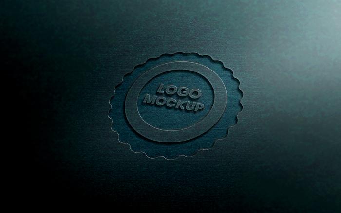 Logo Mockup  Realistic 3D Logo Mockup Template