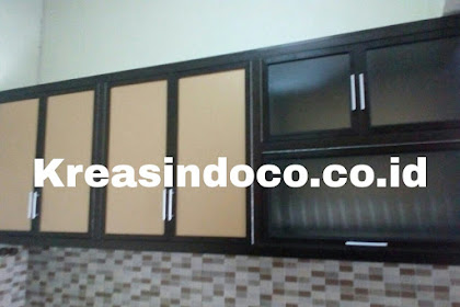 Kitchen Set Aluminium Pesanan Bu Dona Perumahan Hilltop Sukmajaya Depok