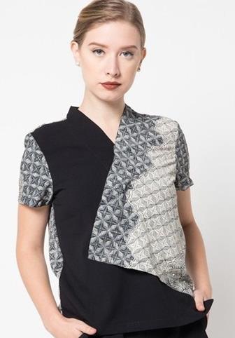 Blus Batik Kombinasi Terbaik