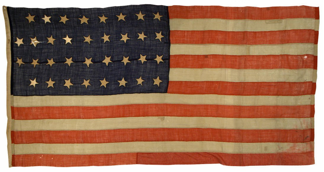 America's Civil War and More: Flag's Birthday - 04 July 1861