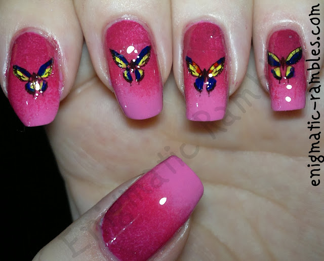 gradient-butterfly-nails-stamping-models-own-pink-blush-elf-hot-pink-rosy-raisin-M08