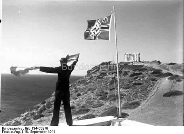 German signaller in Aegean 18 September 1941 worldwartwo.filminspector.com
