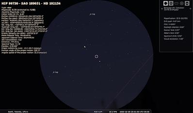 Jupiter and Saturn in binoculars Dec 28
