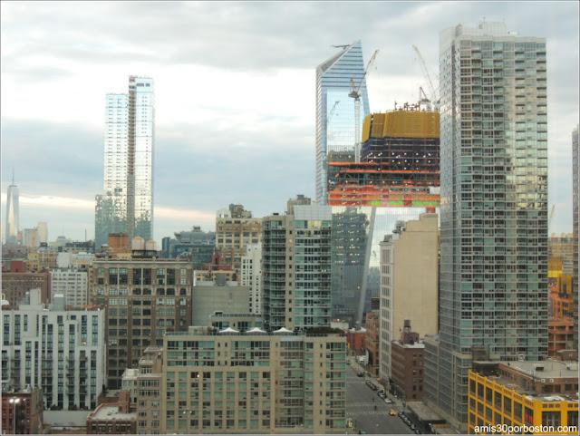 Vistas desde la Habitación de Nuestro Hotel en Nueva York