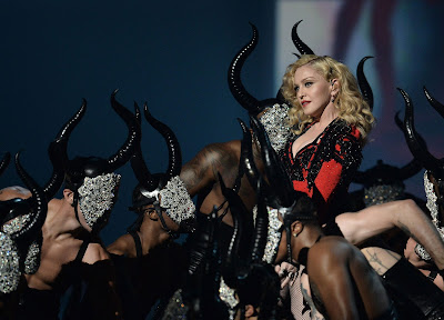 Madonna's Official YouTube Page Just Hours Ago Unleashed A Treasure Trove Of HD-Remastered Grandness! Circa 2015,  Live From The Grammy Awards.
