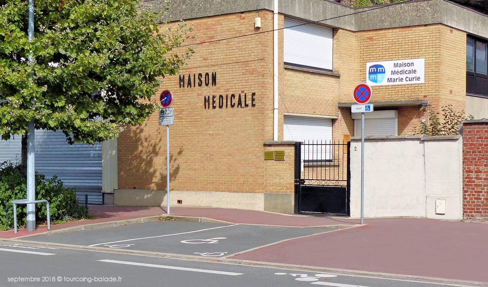 Maison Médicale Marie Curie, Tourcoing