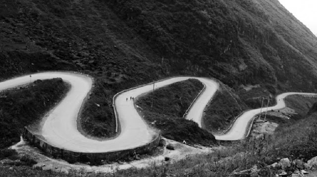 Ha Giang beauty through black and white photos 2