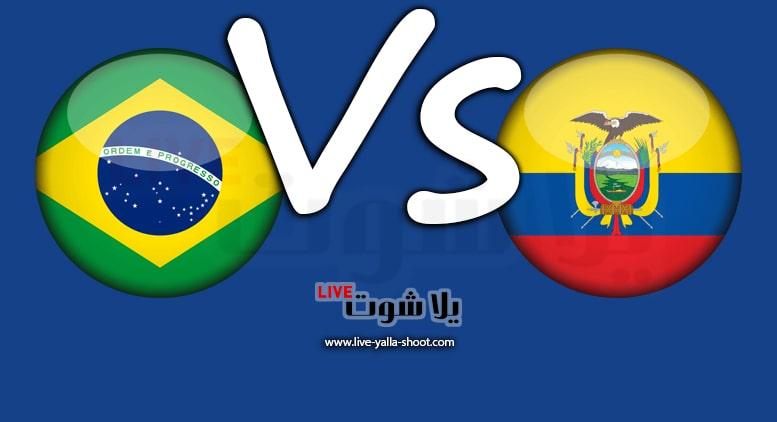 الإكوادور والبرازيل