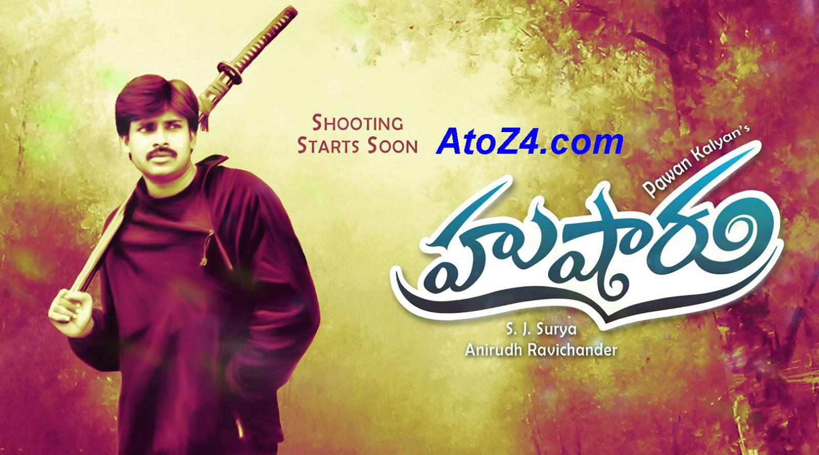 pawan kalyan new movie details / write a film script online