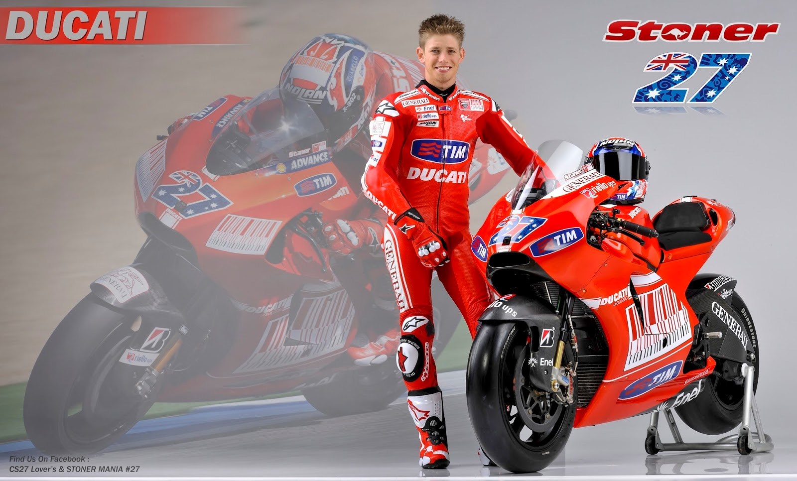 Redi Stoner Casey 2016 Ducati Wallpaper HD