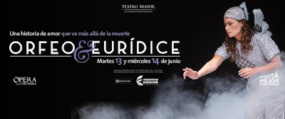 Orfeo y Eurídice, de Christoph W. Gluck por la Ópera de Colombia