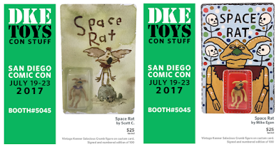 "San Diego Comic-Con 2018 Exclusive Star Wars ""Space Rat"" Action Figure Art Series presented by DKE Toys"