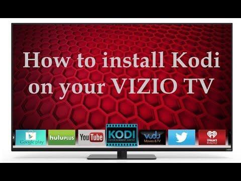 Install KODI On Vizio Smart TV