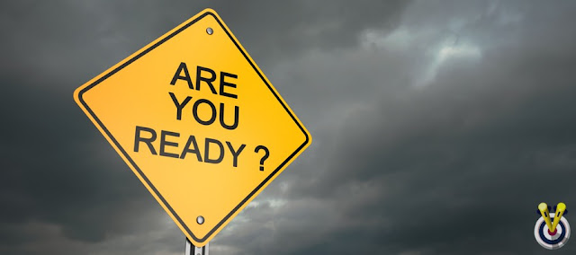 A SIGN THAT'S SAYS ARE YOU READY