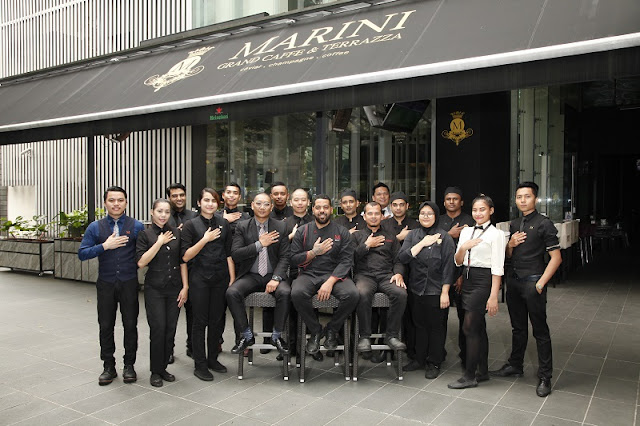 MIGF 2018 - M Marini Grand Caffè & Terrazza Chef Team - One KL