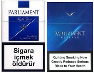 Parliament Sigara Markası ve Nikotin Oranları