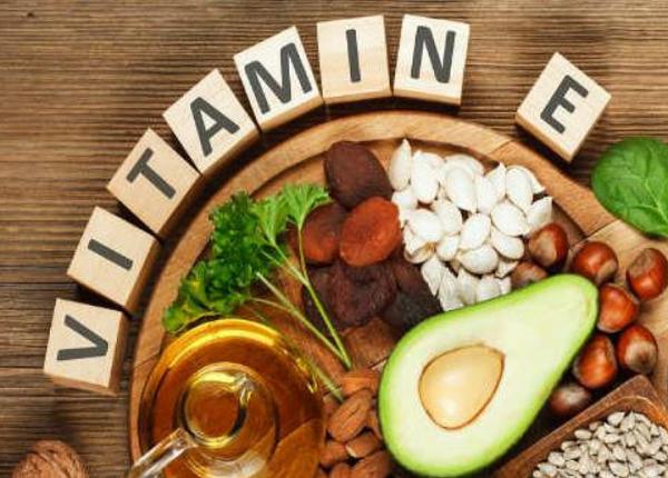 Where is vitamin E in food ?