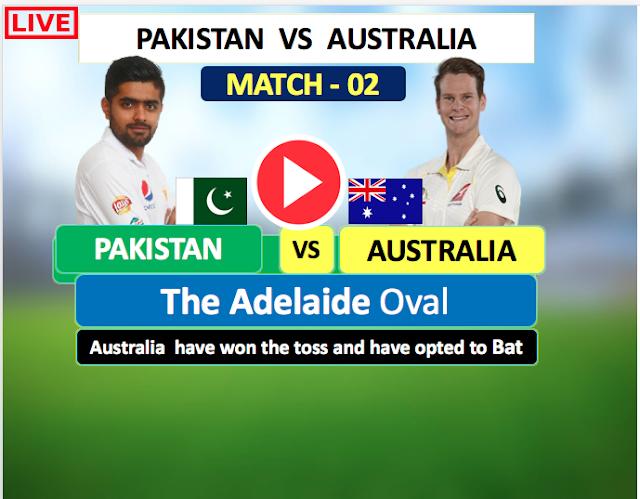 WATCH LIVE MATCH 2:  Australia v Pakistan, 2nd Test (D/N) | November 29 - December 3