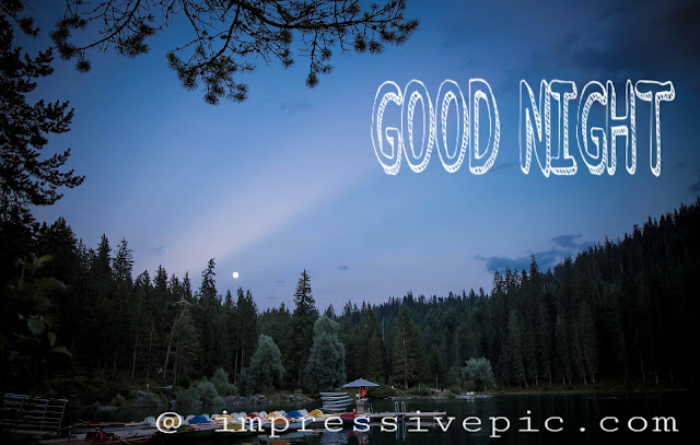 Beautiful night view good night image