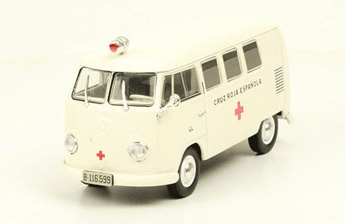 Volkswagen T1 1956 Cruz Roja Española vehículos de reparto y servicio salvat