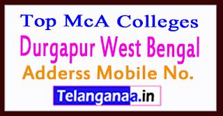 Top MCA Colleges in Durgapur West Bengal