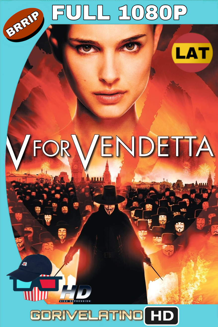 V de venganza (2006) BRRip FULL 1080p (Latino-Inglés) MKV