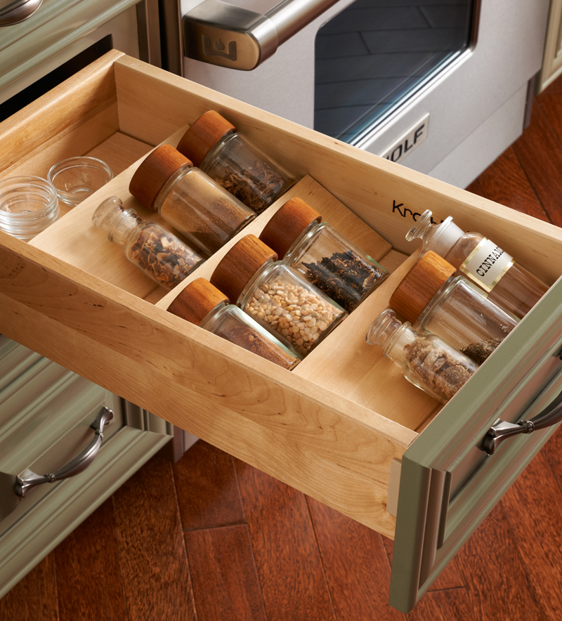 Kitchen Cabinet Storage Bins   X