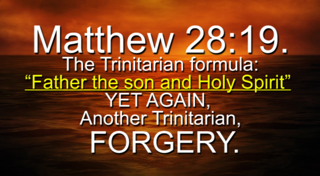 Matthew 28:19,