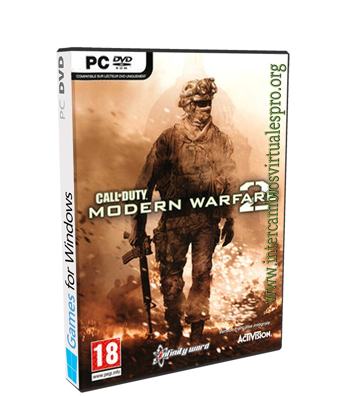 Call of Duty Modern Warfare 2 poster box cover