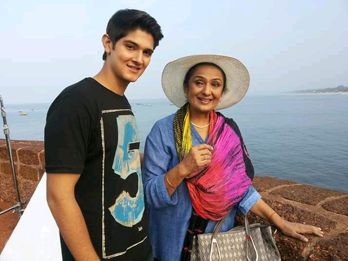 Vineeta Malik and roanh mehra