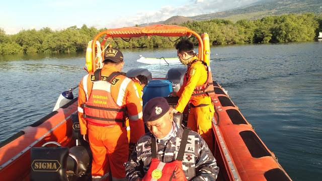 Lanal Mataram Laksanakan Operasi SAR