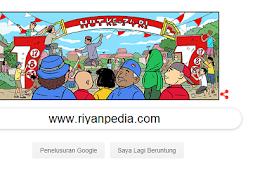 Google Doodle Ikut Merayakan HUT yang Ke- 74 Republik Indonesia
