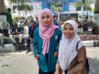 Wakil Rektor UIN Mataram Keluarkan Surat Edaran Tidak Ikut Aksi, Dua Mahasiswi Nekat Ikut Aksi dan Ini Yang Dilakukannya.