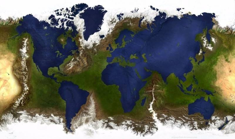 Amazing World Map They Didn't Teach Us In School