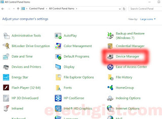 Device Manager for windows
