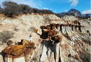 Surga Alam Kelabba Maja NTT, Bukit Batu Batu Unik Seperti di Kawasan Arizona