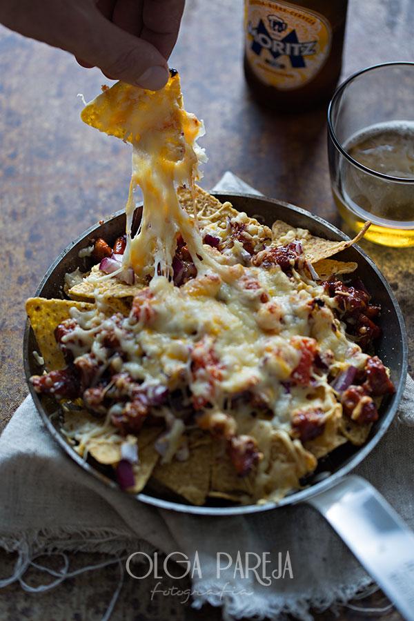 Nina 39 s kitchen nachos con pollo y salsa barbacoa for Salsa barbacoa ingredientes
