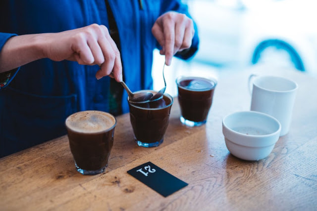 Cupping Or The Art Of Coffee Tasting