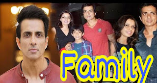 Sonu Sood family pictures