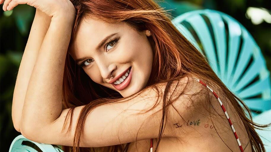 Bella Thorne, Smile, 4K, #4.3120