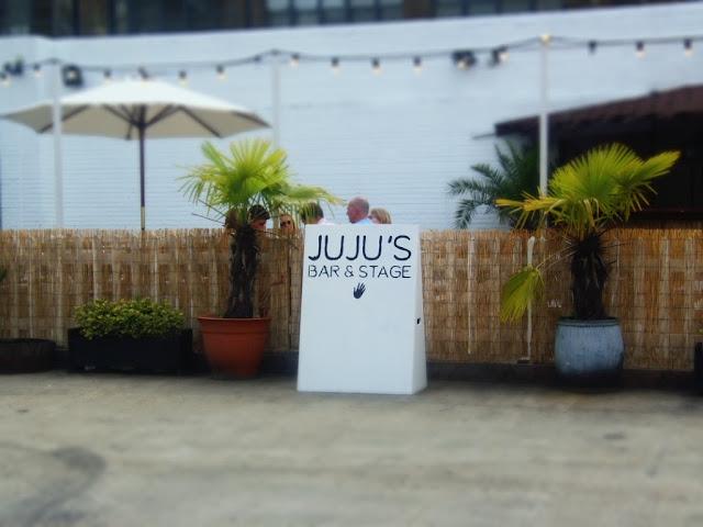 Juju's bar and stage. http://psychologyfoodandfitness.blogspot.co.uk/2016/08/travel-shoreditch-photo-diary.html