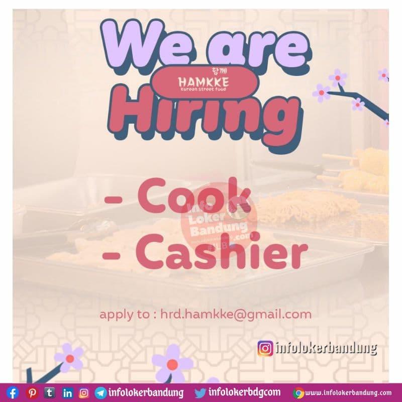Lowongan Kerja Hamkke Korean Street Food Bandung April 2021