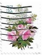 Selo Buquê de rosas