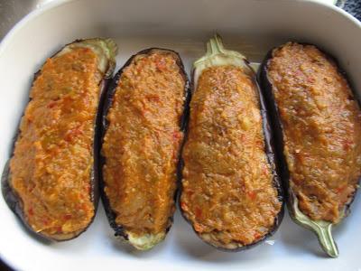 Berenjenas expres de verdura con Thermomix