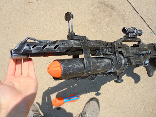 Lasagna678 Nerf Mods: Nerf Grenade Launcher and Shotgun