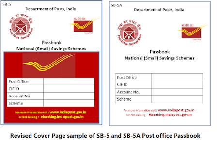 Amendment in SB order 28/2020 for Post Office Passbook images