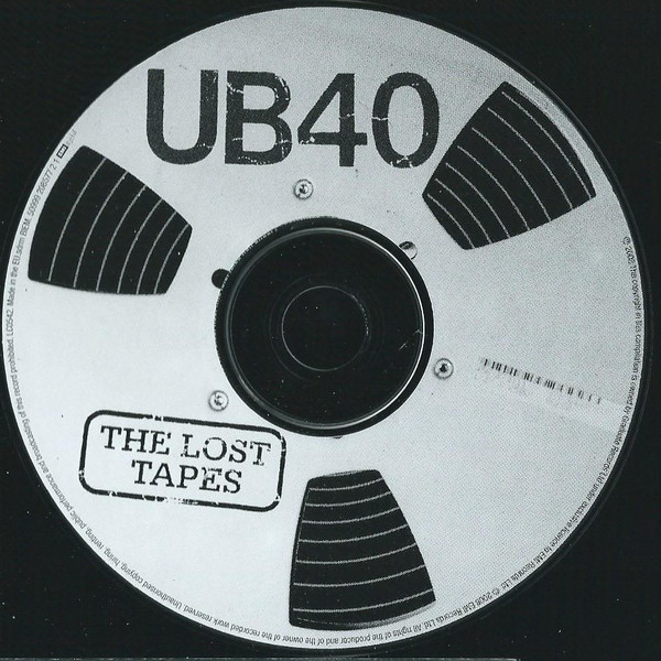 The Punk Panther's Music Reviews: UB40 - The Lost Tapes  Live At The